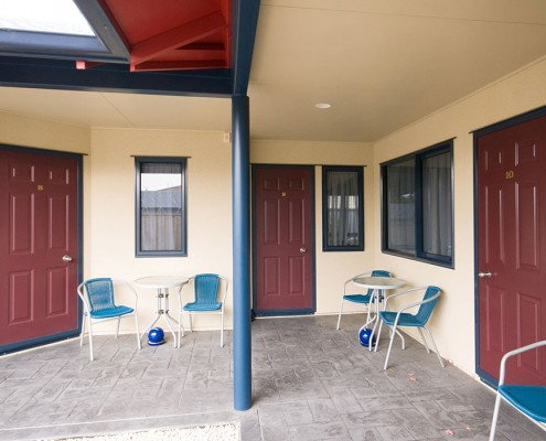 Claremonte Motor Lodge – Motel Unit Additions room entrance Waipukurau Construction