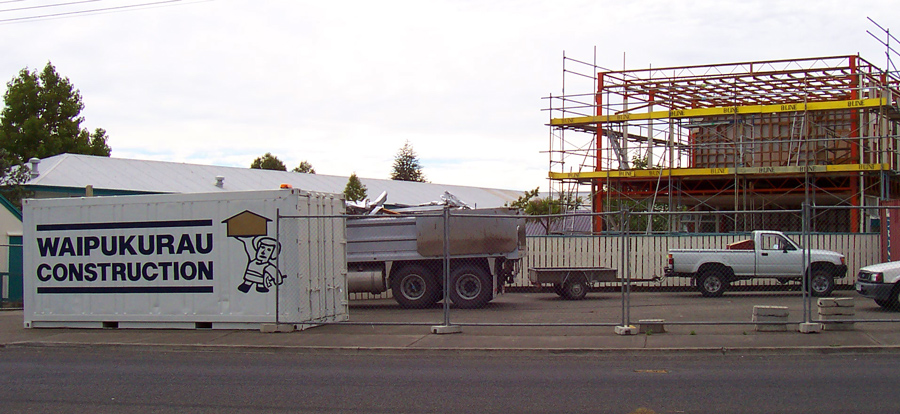 waipukurau construction