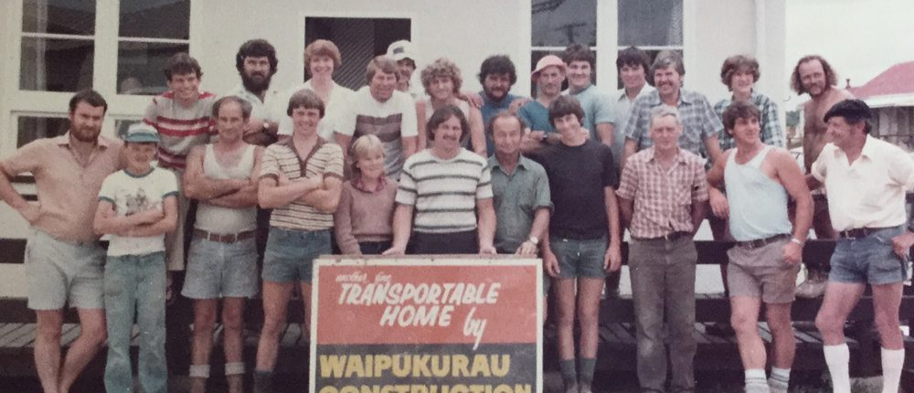 1981 Staff - Waipukurau Construction