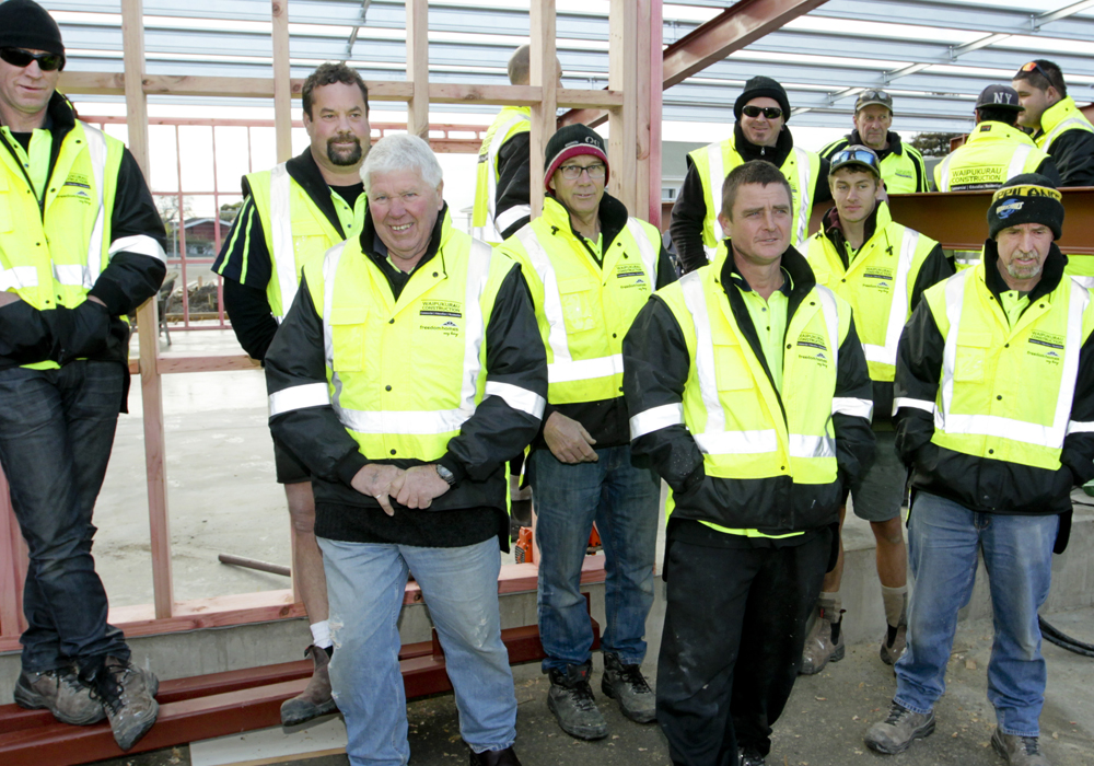 The Team - Waipukurau Construction