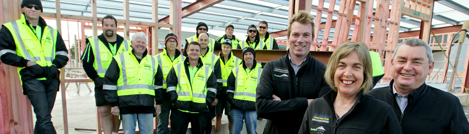 Waipukurau Construction Team