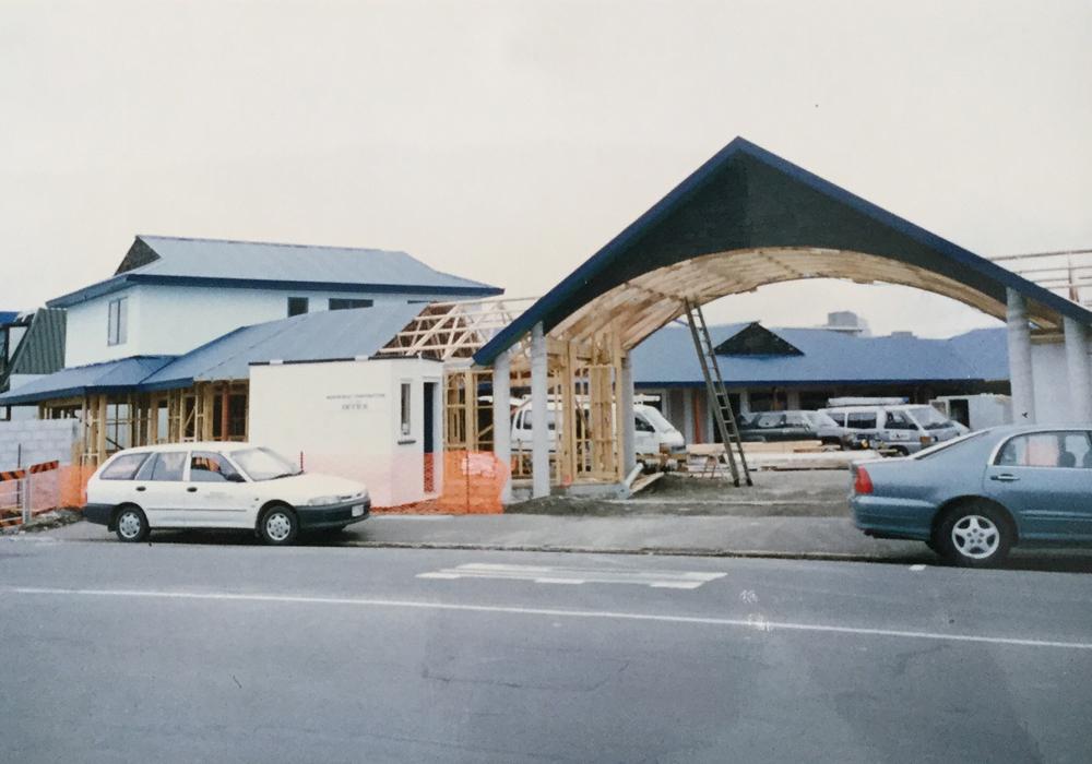 Waipukurau Construction archway