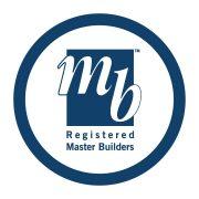 registered master builders logo