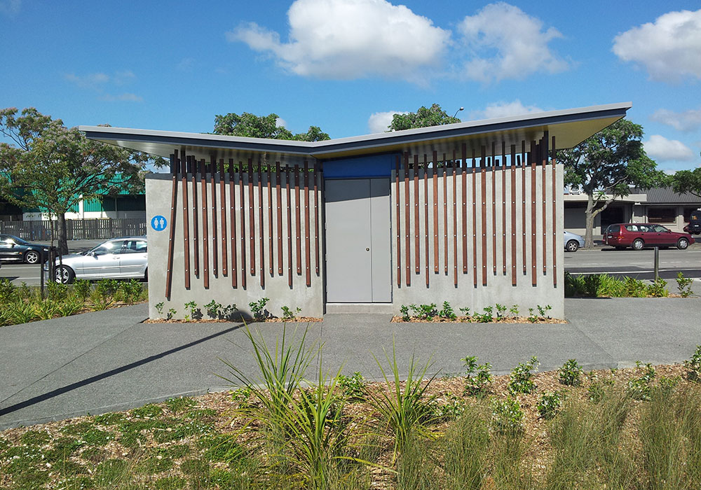 Hastings Skate Park – Public Toilet - Waipukurau Construction