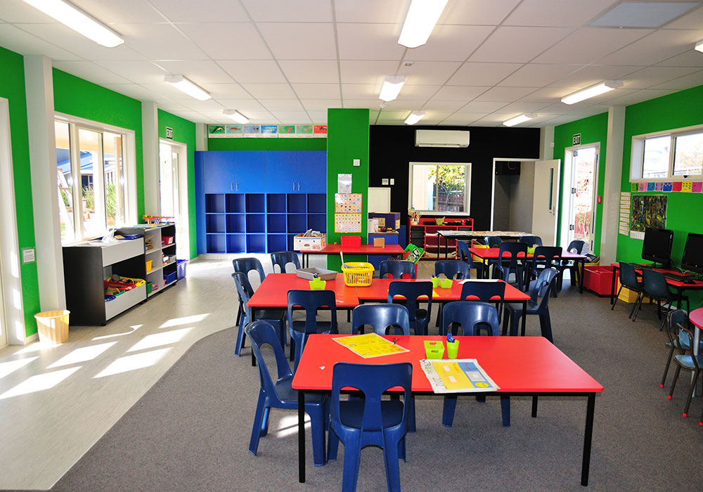 Lucknow School interior – Design & Build Classroom - Waipukurau Construction