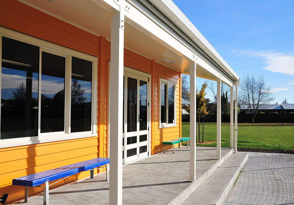 Lucknow School – Design & Build Classroom - Waipukurau Construction