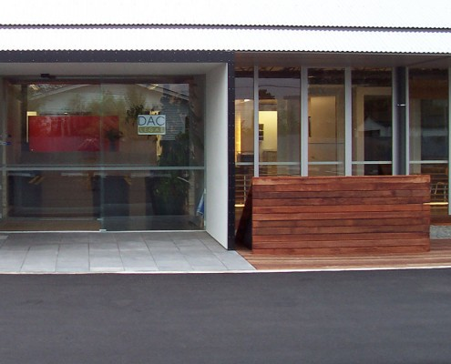 DAC Legal entrance Waipukurau Construction