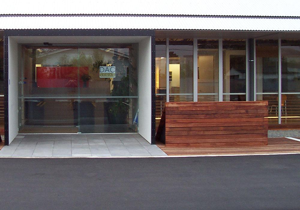DAC Legal entrance Waipukurau Construction