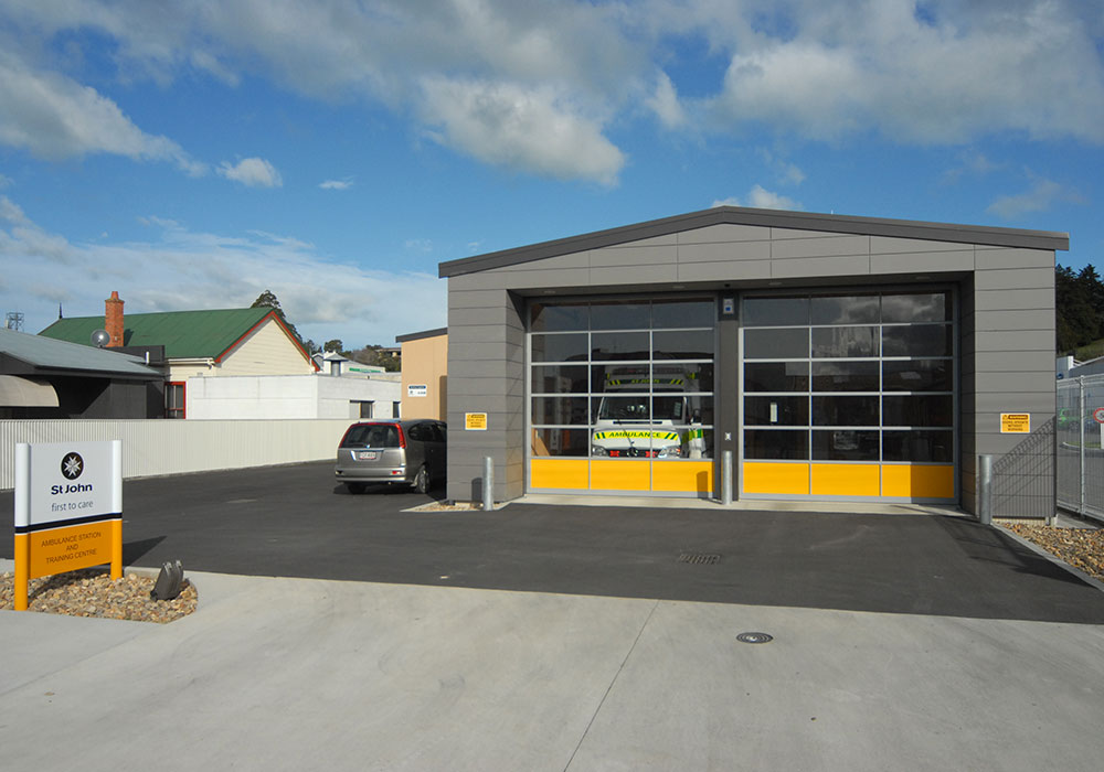 Waipukurau St John ambulance entrance