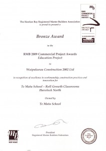 Temata School Award