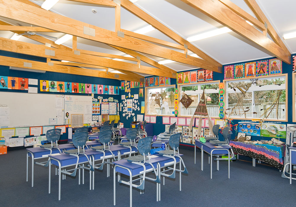 Te Mata School – New Roll Growth Classroom inside - Waipukurau Construction