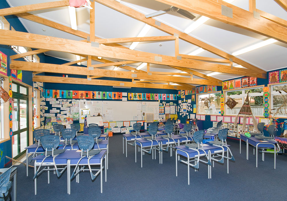 Te Mata School New Roll Classroom built by Waipukurau Construction