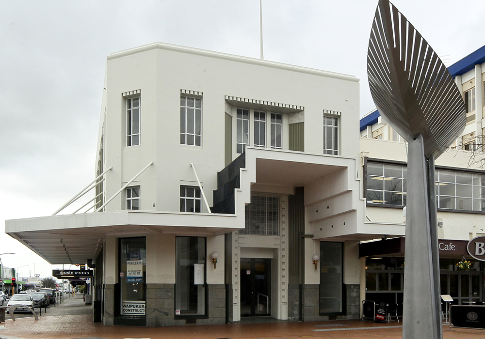 Bank of New South Wales – Structural Upgrade & Alterations side entrance - Waipukurau Construction