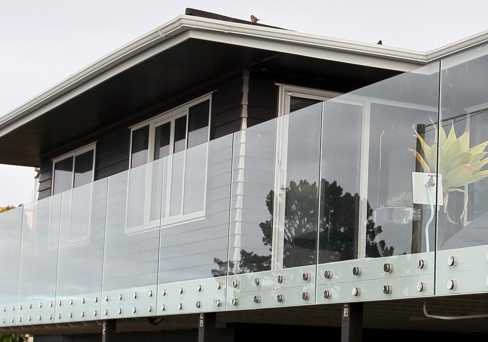 Williams-Lamb Residence Renovation balcony - Waipukurau Construction
