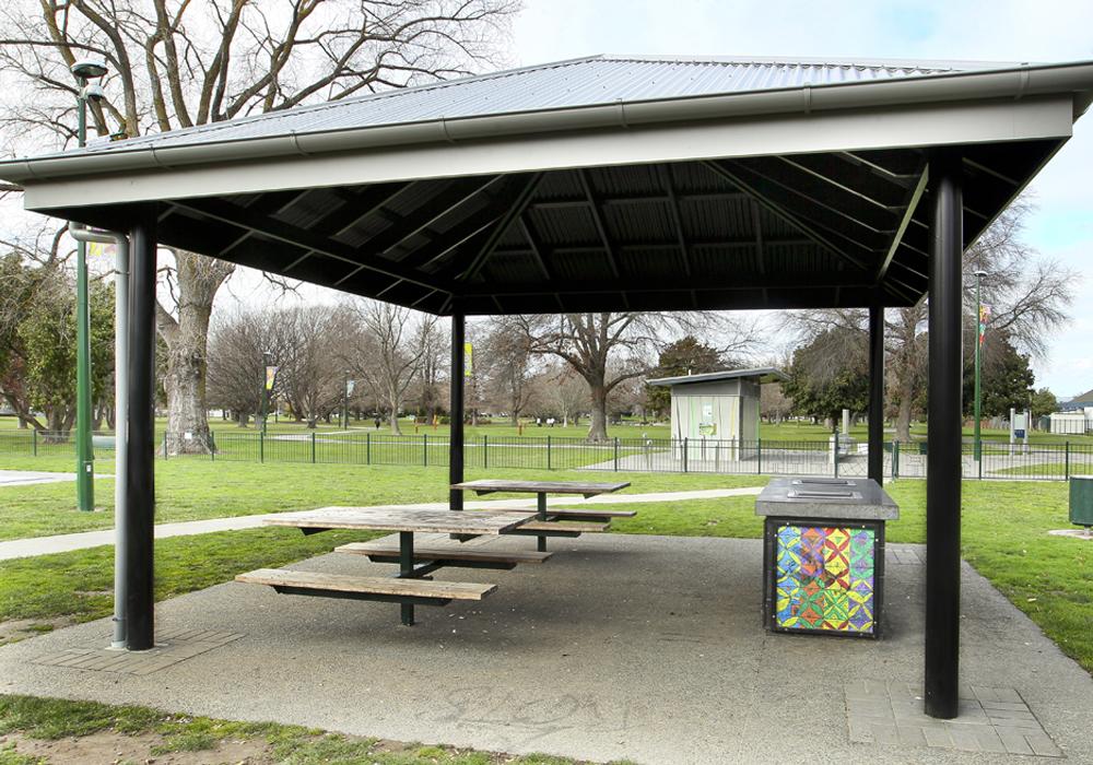 Flaxmere Park BBQ Shelter - Waipukurau Construction
