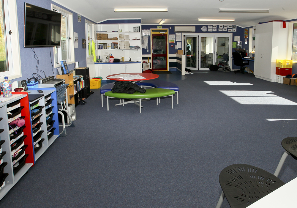 Eskdale School – New Roll Growth Classroom interior - Waipukurau Construction