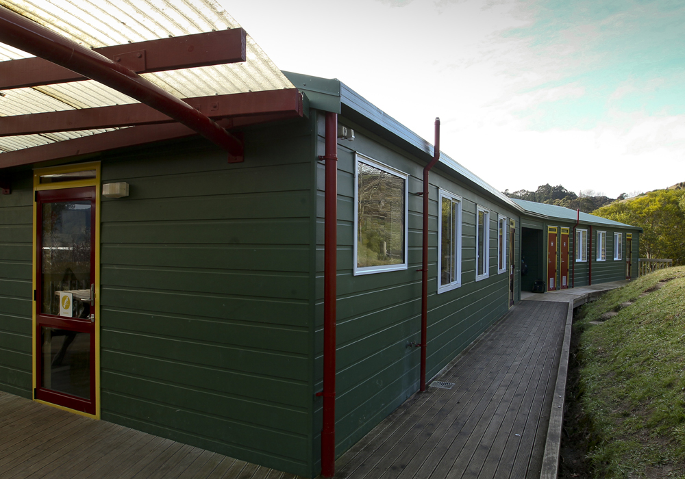 Eskdale School – New Roll Growth Classroom outside - Waipukurau Construction