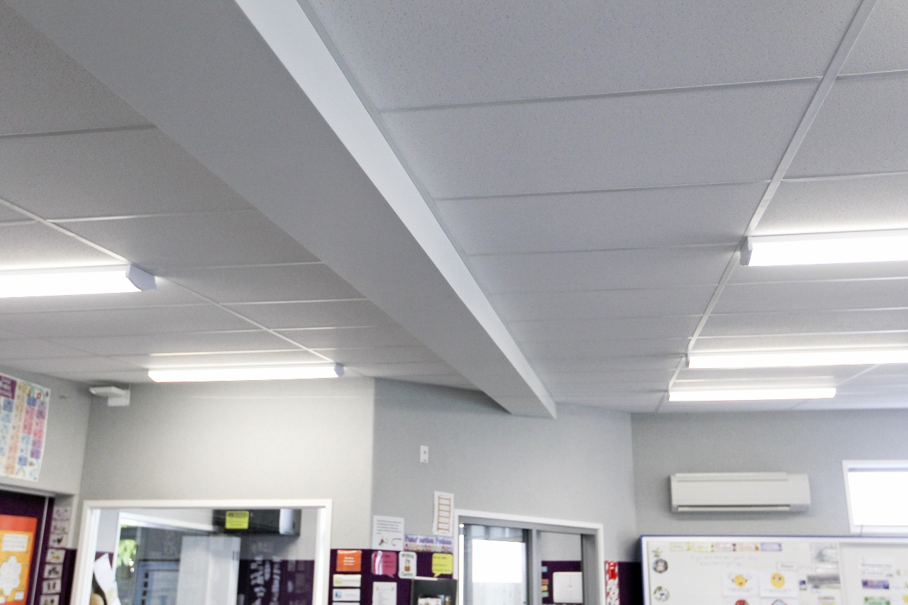 Napier Central School – New Classroom Block ceiling - Waipukurau Construction
